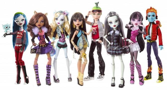 Монстер хай куклы Ebay com