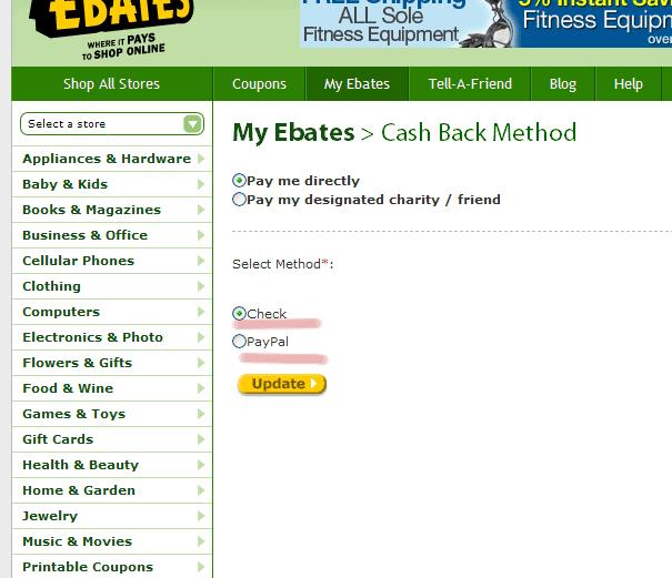 изображение: Ebay on Ebates