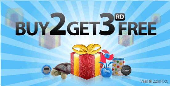изображение: купон BuyInCoins - BUY 2 GET 3rd FREE