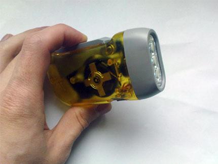 изображение: Hand Press LED Torch
