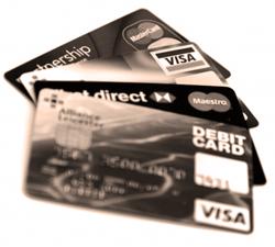 Пластиковая карточка для PayPal