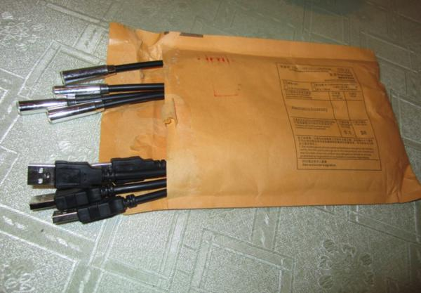 Заказ на ebay - USB лампы