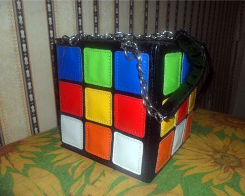 изображение: сумка квадратик